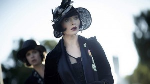 Miss Fisher looking into the middle distance.